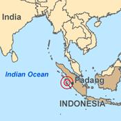 peta gempa sumbar